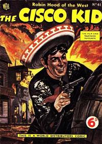 Cover Thumbnail for Cisco Kid (World Distributors, 1952 series) #41