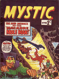 Cover Thumbnail for Mystic (L. Miller & Son, 1960 series) #48