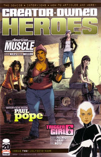 Cover for Creator-Owned Heroes (Image, 2012 series) #2 [Cover A]