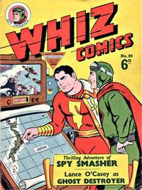 Cover Thumbnail for Whiz Comics (L. Miller & Son, 1950 series) #89