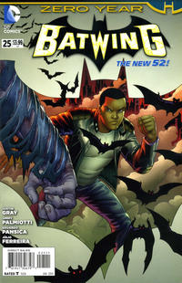 Cover Thumbnail for Batwing (DC, 2011 series) #25
