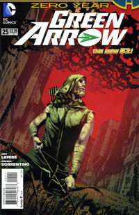 Cover Thumbnail for Green Arrow (DC, 2011 series) #25