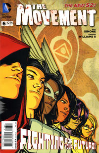Cover Thumbnail for The Movement (DC, 2013 series) #6