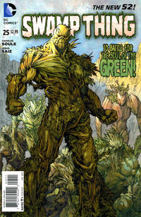 Cover Thumbnail for Swamp Thing (DC, 2011 series) #25