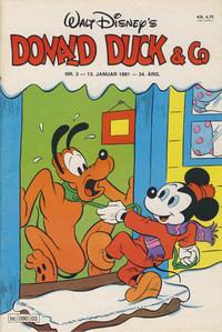 Cover Thumbnail for Donald Duck & Co (Hjemmet / Egmont, 1948 series) #3/1981