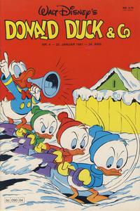 Cover Thumbnail for Donald Duck & Co (Hjemmet / Egmont, 1948 series) #4/1981