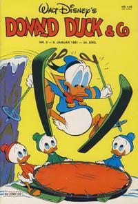 Cover Thumbnail for Donald Duck & Co (Hjemmet / Egmont, 1948 series) #2/1981