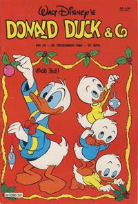 Cover Thumbnail for Donald Duck & Co (Hjemmet / Egmont, 1948 series) #52/1980