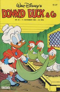 Cover Thumbnail for Donald Duck & Co (Hjemmet / Egmont, 1948 series) #46/1980