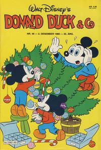 Cover Thumbnail for Donald Duck & Co (Hjemmet / Egmont, 1948 series) #49/1980