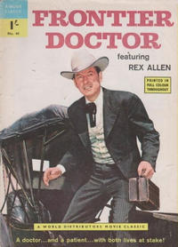 Cover Thumbnail for A Movie Classic (World Distributors, 1956 ? series) #44 - Frontier Doctor