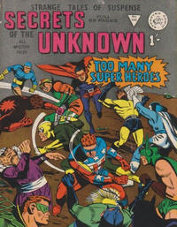 Cover Thumbnail for Secrets of the Unknown (Alan Class, 1962 series) #100