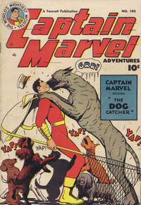 Cover Thumbnail for Captain Marvel Adventures (Anglo-American Publishing Company Limited, 1948 series) #105