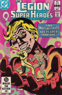 Cover Thumbnail for The Legion of Super-Heroes (DC, 1980 series) #299 [Direct-Sales]
