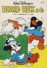 Cover Thumbnail for Donald Duck & Co (Hjemmet / Egmont, 1948 series) #6/1981