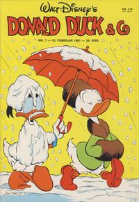Cover Thumbnail for Donald Duck & Co (Hjemmet / Egmont, 1948 series) #7/1981