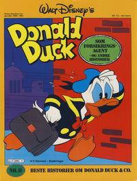Cover Thumbnail for Walt Disney's Beste Historier om Donald Duck & Co [Disney-Album] (Hjemmet / Egmont, 1978 series) #11 - Donald Duck som forsikringsagent