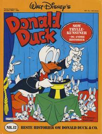 Cover Thumbnail for Walt Disney's Beste Historier om Donald Duck & Co [Disney-Album] (Hjemmet / Egmont, 1978 series) #12 - Donald Duck som tryllekunstner