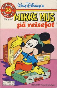 Cover Thumbnail for Donald Pocket (Hjemmet / Egmont, 1968 series) #36 - Mikke Mus på reisefot [2. opplag]