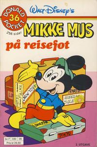 Cover Thumbnail for Donald Pocket (Hjemmet / Egmont, 1968 series) #36 - Mikke Mus på reisefot [3. opplag Reutsendelse 330 28]