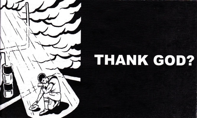 Cover for Thank God? (Godless Comics, 2013 series)