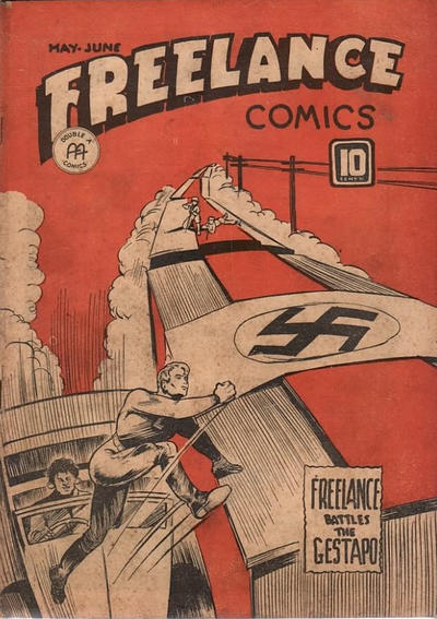 Cover for Freelance Comics (Anglo-American Publishing Company Limited, 1941 series) #v2#2