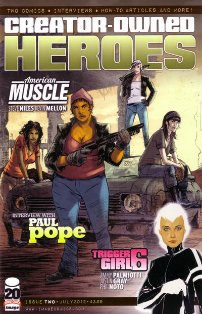 Cover for Creator-Owned Heroes (Image, 2012 series) #2