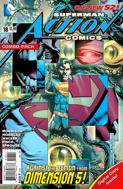 Cover for Action Comics (DC, 2011 series) #18