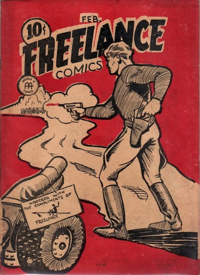 Cover for Freelance Comics (Anglo-American Publishing Company Limited, 1941 series) #v1#5