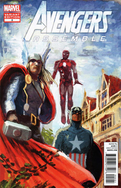Cover for Avengers Assemble (Marvel, 2012 series) #2