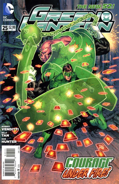 Cover for Green Lantern (DC, 2011 series) #25