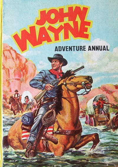 Cover for John Wayne Adventure Annual (World Distributors, 1953 series) #1958