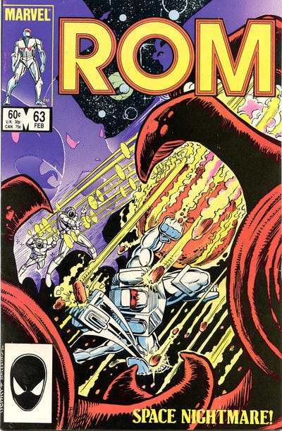 Cover for ROM (Marvel, 1979 series) #63 [Direct Edition]