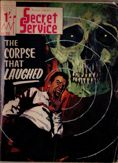 Cover for Secret Service Picture Library (MV Features, 1965 series) #23
