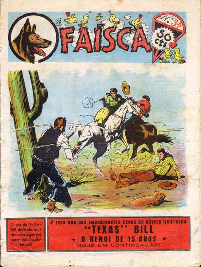 Cover for O Faísca (Sociedade Editora A.L.M.A., Ltd.ª, 1943 series) #34