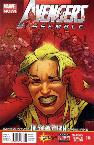 Cover for Avengers Assemble (Marvel, 2012 series) #16 [Joe Quinones Cover]