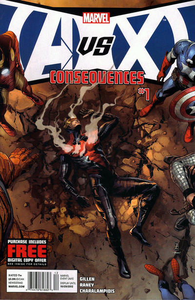Cover for AVX: Consequences (Marvel, 2012 series) #1
