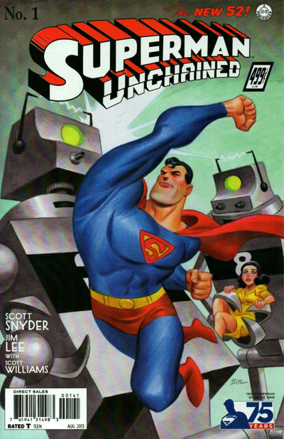 Cover for Superman Unchained (DC, 2013 series) #1