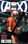 Cover for AVX: Consequences (Marvel, 2012 series) #2 [Newsstand Edition]