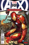 Cover for AVX: Consequences (Marvel, 2012 series) #3 [Newsstand Edition]