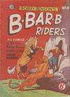 Cover for Bobby Benson's  B-Bar-B Riders (World Distributors, 1950 series) #4