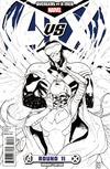 Cover Thumbnail for Avengers vs. X-Men (2012 series) #11 [Pichelli Sketch Variant]