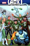 Cover Thumbnail for Avengers vs. X-Men (2012 series) #12 [NYCC 2012 NY Jets X-Men Exclusive Variant by Billy Tan]