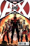 Cover for Avengers vs. X-Men (Marvel, 2012 series) #8 [Kubert Variant]