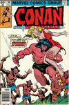 Cover for Conan the Barbarian (Marvel, 1970 series) #108 [Newsstand]