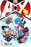Cover Thumbnail for A+X (2012 series) #1 [Marvel Babies Variant by Skottie Young]