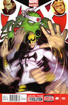 Cover for A+X (Marvel, 2012 series) #5 [Newsstand Edition]