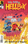 Cover for Itty Bitty Hellboy (Dark Horse, 2013 series) #3