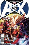 Cover Thumbnail for Avengers vs. X-Men (2012 series) #2 [Newsstand Edition]