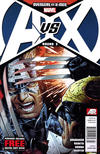 Cover Thumbnail for Avengers vs. X-Men (2012 series) #3 [Newsstand Edition]